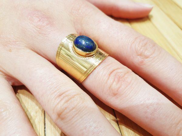 Bague Stella Lapis Lazuli 4