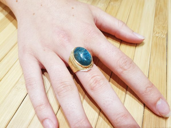 Bague Apis Lapis Lazuli ma fantaisie 3