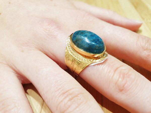 Bague Apis Lapis Lazuli ma fantaisie 4