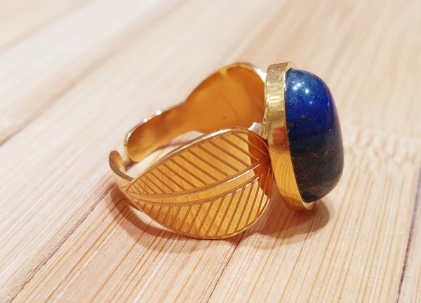 Bague Hathor Lapis Lazuli ma fantaisie 3