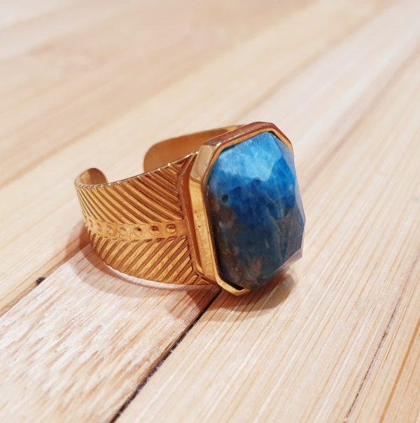 Bague Khepri Lapis Lazuli ma fantaisie 2