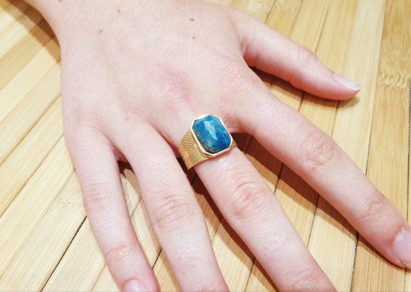 Bague Khepri Lapis Lazuli ma fantaisie 3