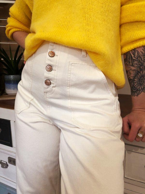 Pantalon Lilo Blanc orfeo 2