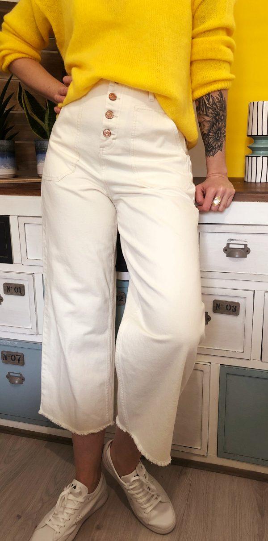 Pantalon Lilo Blanc orfeo