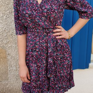 Robe Lilou Violet orfeo 1